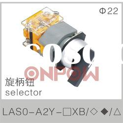 selector round LAS0-A(selector switch,selector push button switch)
