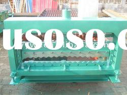 13-65-850 Automatic corrugated sheet roof roll forming machine