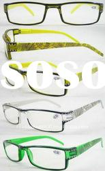 2011 Hot sale female plastic reading eyewear with diamond(RP461014)