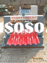 35-125-750 corrugated tile floor deck roll forming machine