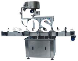 Automatic bottle cap sealing machine