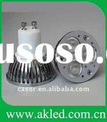 Ceramics Base GU10 3W LED Spot Lamp