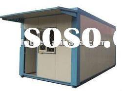 China prefabricated steel house for construction site