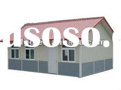 China simple prefabricated steel house for construction site
