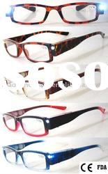 Classic Plastic CE LED Reading Glasses (RP104034- (1))