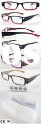 Fashion Plastic LED Reading Eyewear (RP104034A)