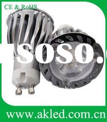 High Power 3x2W Spot GU10 LED Spot Bulbs DC12V