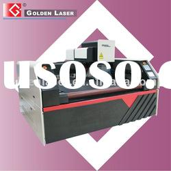 Machine for laser cutting and engraving on mat