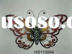 Metal Wall Art Decoration Butterfly