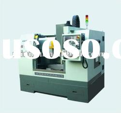 Milling machining of metal parts low cost mini 3-axis or 4-axis vertical cnc milling machine