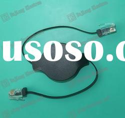 New-style Retractable Cable RJ45 High Speed/Retractable Cable RJ45 M/M Cable 2.5ft