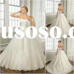 OMYD05 New Arrive Sweetheart Ball-Gown Wedding Dress 2012
