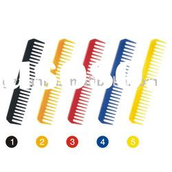 PP comb-cosmetic comb , hair cutting comb,salon comb