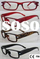 Popular Plastic LED Reading Eyewear (RP446015A)