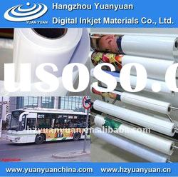 Self Adhesive vinyl,car stickers, glossy pvc vinyl film, Inkjet Media