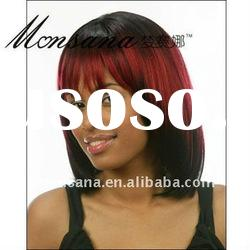 Short bobo human hair full lace wig for black ladies