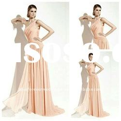 Stunning One Shoulder Evening Dress Long 2012 Style