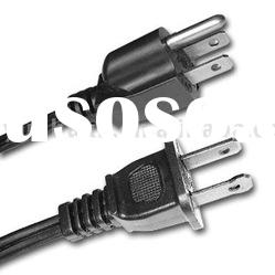 UK Euro US Power Cord , Ac Power cable right angle
