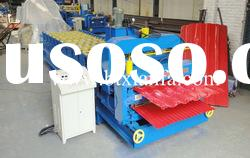 autodouble sheet glazed tile roll forming machine