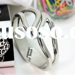 fashion jewelry alloy hinge bangle
