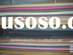 high quality pig grain leather to make shoes leather material