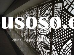 modern decorative facade material/fperforated wall panel