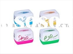 plastic tissue holder/paper rack/plastic tissue box/paper box