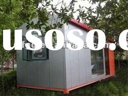 simple prefabricated house for construction site