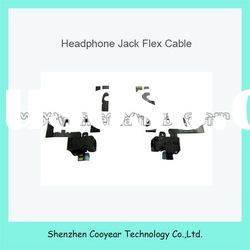 spare parts audio jack flex cable for iphone 4 original new paypal is accepted