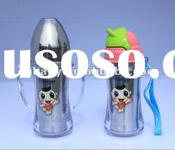 2012 Hot sales stainless steel baby feeding bottle