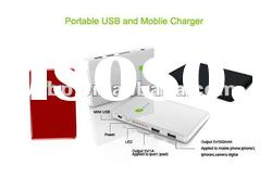 5200mAh mini hot sell double usb power bank