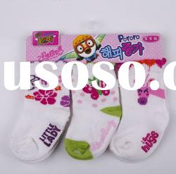 6-12 Months Baby Girl Sock 3pairs per polybag 3
