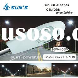 High Lumine Performance Solar LED Street Light 30-120W