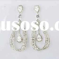 Newest fashion crystal earrings