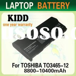 Replacement Laptop battery for PA3465U 12 cells