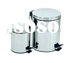 Round Shape Stainless steel garbage bin