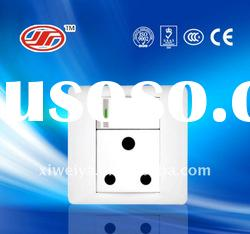 South Africa standard electrical wall switch and socket