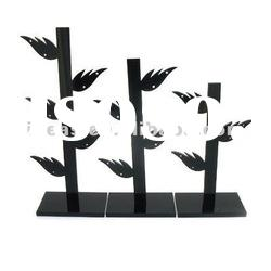 Tree shaped acrylic earring display stands