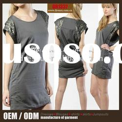 Women Fashion Without Dress/ Sequin Sleeve Dress Clothes