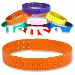 WristbandConection Custom Silicone Rubber Wristbands