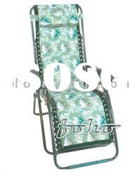 Zero Gravity Outdoor Folding Chair with Camouflage Design and Sponge Padded