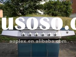 bbq gas CE /gas bbq grill /Garden bbq grill/6 burners stainless steel gas grill