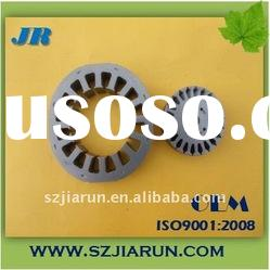 fan motor iron core of stator and rotor