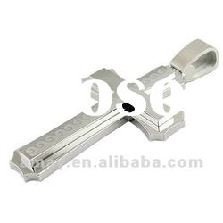 high quality Jewelry 316L stainless steel cross pendants