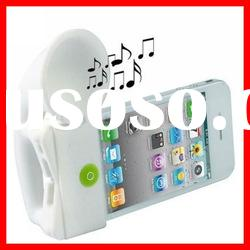 horn stand with speaker for iphone
