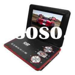 newest design 7inch portable DVD player with tv tuner and radio KSD-738(16:9)
