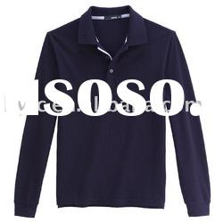 promotion Long Sleeves Polo Shirts / fashion long sleeve polo shirts