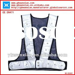 reflective safety vest with 18 LED lights(WX-B3002)
