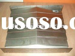 special steel plate machine shield bellow cover