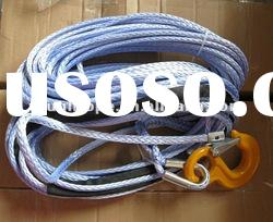 uhmwpe winch ropes / atv winch rope / synthetic winch rope